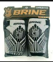 NEW - Brine UPRISING Lacrosse Elbow / Arm Pads Adult Size Large LAPUPR2L