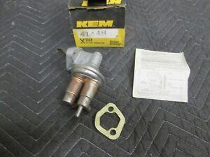 KEM NIB Fuel Pump MADE IN USA 41448 Dodge Omni Plymouth Horizon M60000 1978 1.7L