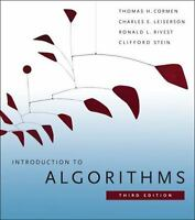 Introduction to Algorithms by Clifford Stein 3rd edition (PDF EBOOK)