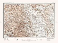 MAP ANTIQUE 1902 OS UK LEEDS WEST YORKSHIRE LARGE REPLICA POSTER PRINT PAM0403