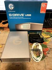 G-Technology 10TB 7200RPM G-DRIVE G1 USB 3.0 External Hard Drive #0G05016 95 Hrs