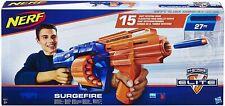 NERF N-Strike Elite SurgeFire Gun Toy Official Soft Dart Blaster Hasbro