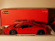 BBURAGO FERRARI SIGNATURE SERIES 458 SPECIALE ART.18-16903  1:18  NEW