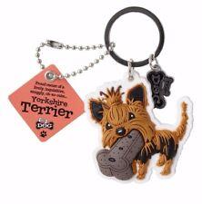 British English Bulldog 3D Key Ring Bag Charm Dog Lovers Gift Stocking Filler