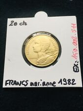 20 Centimes Francs 1982 - Coin French