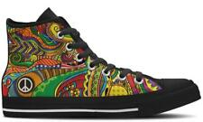 Peace of Color Designer Custom High Top Canvas Shoes - Mens, Womens, Kids