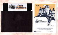 Castle Wolfenstein for the Apple II+ IIe IIc & IIGS - New Disk + Card