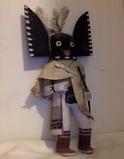 "Vintage Hopi Kachina figure. Cottonwood. Multicolor. Handmade. 15""."