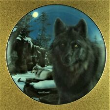 Moon Shadow Plate Realm of the Wolf #5 Kevin Daniel Gray Black Wolves Bradford