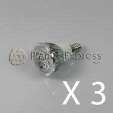 3 x Bombilla 4W LED E14 Blanco Frio 220V 350 lumen Bajo Consumo! equi. 40W puro