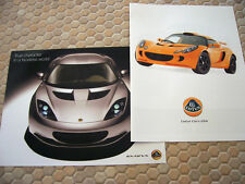 LOTUS EXIGE S 240 ELISE SC CALIFORNIA EXIGE S CLUB RACER SALES BROCHURE 2008-10