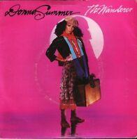"""DONNA SUMMER the wanderer  stop me 7"""" PS EX/VG uk warner K79180"""