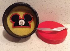 Mickey Mouse Ears Pin WDW Cast Member Exclusive Hatbox NEW Kingdom hat box rare