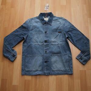 NEU Nudie Jeans,  Hemd Shirt Sten Light Authentic Denim M