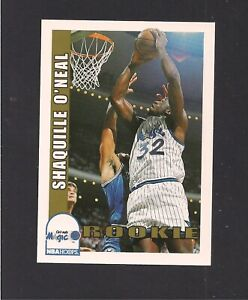 1992 NBA HOOPS SKYBOX  #442 SHAQUILLE O'NEAL  RC [ORLANDO MAGIC]