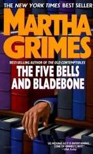 The Five Bells & Bladebone Martha Grimes (1988 Paperback) Novel Book Fiction