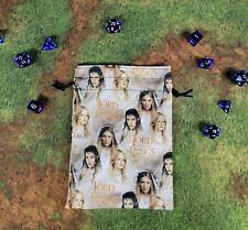 Lord of the Rings Female Leads dice bag, card bag, makeup bag