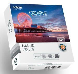 Cokin P Series Full ND Kit H300-01 ND2 ND4 ND8 - P152 P153 P154 - New Flatpacked