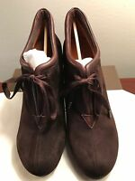 CHIE MIHARA LACE TIE ANKLE BOOTIE OLGA ANTE CAFE SIZE 40 B
