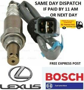 GENUINE BOSCH OXYGEN SENSOR LEXUS IS250C GSE20R 2.5L 4GRFSE  2 DOOR SAVE 50%