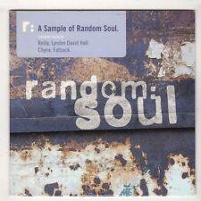 (HB710) Random Soul, 4 tracks various artists - DJ CD