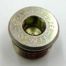AF 22S-S04 - #4 Zero Leak Plug(ORB Thread) (7/16''-20 Threads)