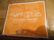 SAFRI DUO PLAYED-A-LIVE (THE BONGO SONG) ORIGINAL / NICK SENTIENCE / SERIOUS MIX