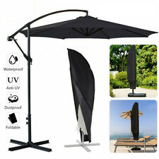 OUTDOOR PARASOL BANANA UMBRELLA COVER CANTILEVER GARDEN PATIO SHIELD WATERPROOF
