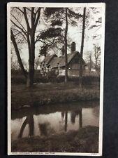 RP Postcard Stratford On Avon - Shakespeare Anne Hathaway Cottage: 1960 #S256