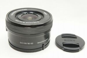 """""""MINT"""" SONY And PZ 16-50mm F3.5-5.6 OSS SELP1650 Lens Black for Mount #211016g"""