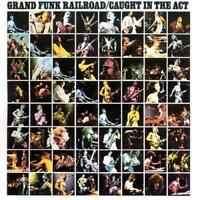GRAND FUNK RAILROAD Caught In The Act (Live) CD BRAND NEW Remastered