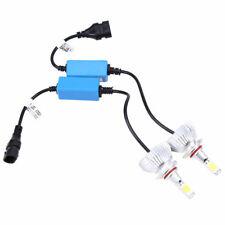 2x 9005 LED Total 80W 8000LM COB Headlight High 6000K White Kit Bulbs Universal