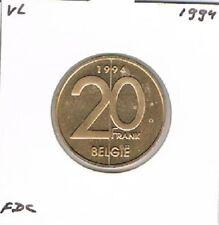 Belgium / België dutch 20 francs 1994 BU - KM192