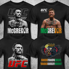 NEW CONOR MCGREGOR THE NOTORIOUS UFC MMA T shirt S to 3XL MEN'S