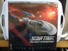 STAR TREK CALENDAR 1999 NEXT GENERATION ENTERPRISE PICARD WORF DATA TROI CRUSHER