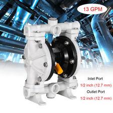 Qby 15pp 13gpm Polypropylene Pneumatic Double Diaphragm Pump 12 Npt 100psi
