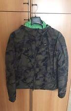 Giacca a Vento Giubbotto Uomo Blauer Verde Militare Misura S