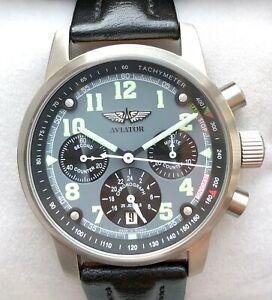 AVIATOR 31681/6775732 Russian watch Chronograph POLJOT
