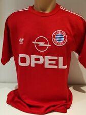 FC Bayern München adidas Trikot 1990 1992 OPEL #5 Augenthaler kurzarm M