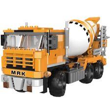 Building Blocks Construction Car Set Educational Excavator Vehicle Toy Bricks