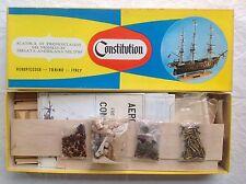 AEROPICCOLA FRÉGATE AMÉRICAINE USS CONSTITUTION. MAQUETTE BOIS ET MÉTAL. NEUF
