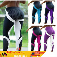 Damen Leggings Fitnesshose Yogahose Sport Jogginghose Stretch Leggins Yoga``