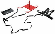 Power Speed Sled With Shoulder Harness Resistance Training Crossfit Running -HND