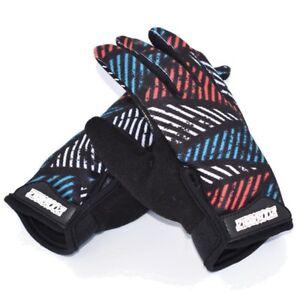 ZippyRooz Geometric Toddler/ Little Kids Bike Gloves Full Long Finger Girls Boys