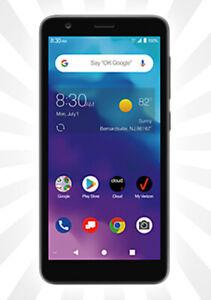 Verizon Prepaid ZTE Blade Vantage 2 (16GB) Smartphone Black NEW