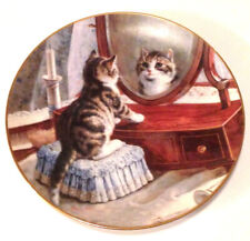 Cat Capers Franklin Mint Heirloom Collector's Plate by Frank Paton