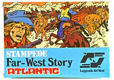1/72 Scale Atlantic HO Far-West Story Stampede # 1113 - mint in box