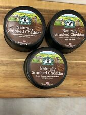 Naturally Smoked Cheddar Cheese  3 X 200g Wensleydale Creamery Yorkshire