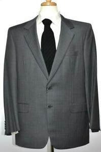 Brioni Mens Traiano Gray 2-BTN Wool Suit Size 42 /52 L NEW $5000