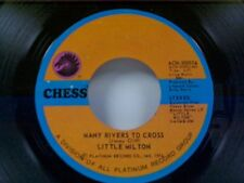 "LITTLE MILTON ""MANY RIVERS TO CROSS / MORE AND MORE"" 45 MINT"